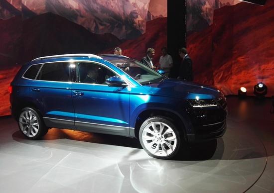 Skoda Karoq, svelato il nuovo SUV compatto