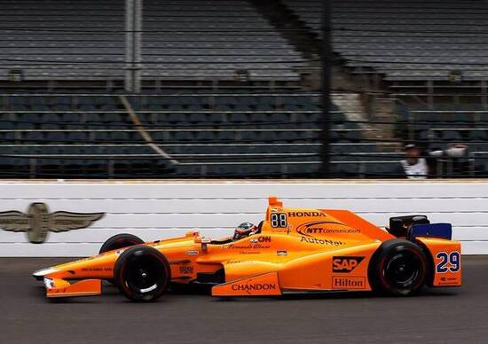 Alonso è pronto per la Indy 500