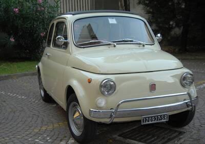 500L d'epoca del 1969 a Milano