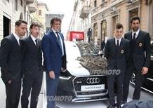 Audi e Milan: il matrimonio indissolubile si rinnova nel 2015