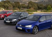 Volkswagen Golf Variant: nuova GTD, Alltrack e R