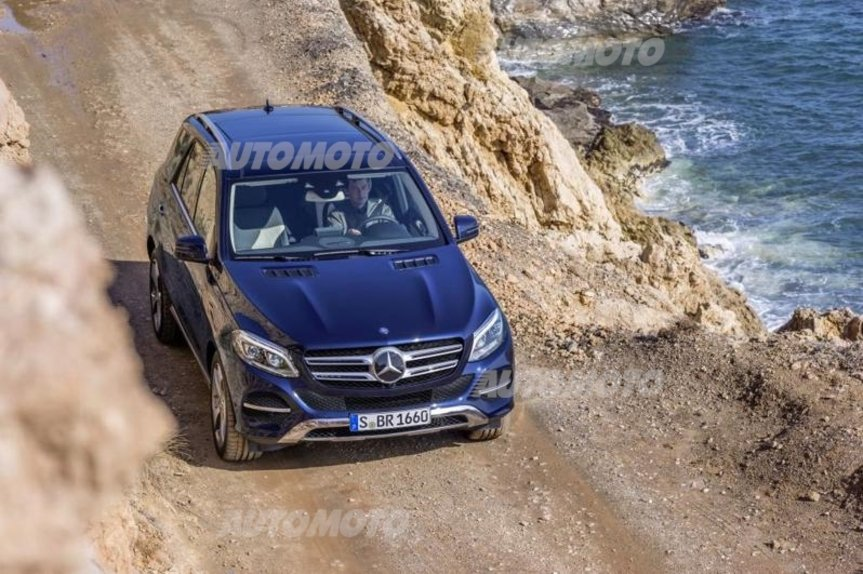 Suv Mercedes All Attacco In Arrivo Gle Gle Coup 233 E Glc
