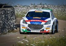 CIR 2017 Salento 1a Tappa. Andreucci e Peugeot: Implacabili!