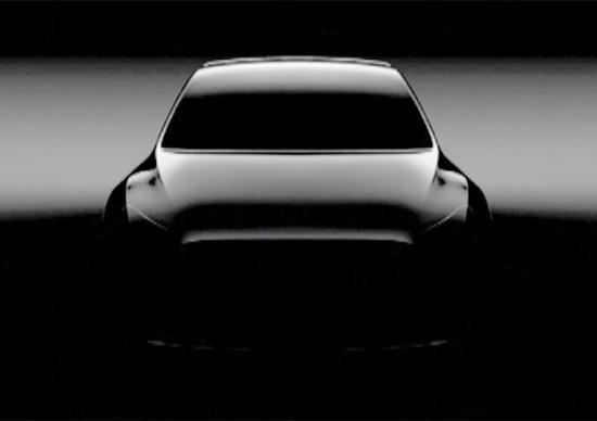 Tesla Model Y, arriverà nel 2019. Ecco la prima immagine
