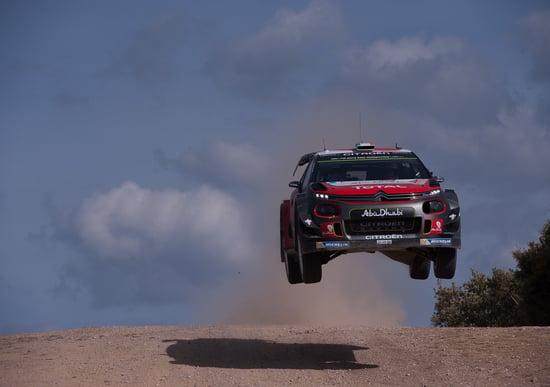Hyundai al via del Rally di Sardegna