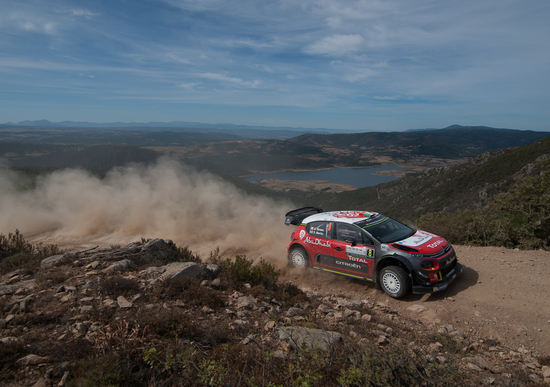 Citroen C3 WRC Plus: dal vivo al Rally di Sardegna