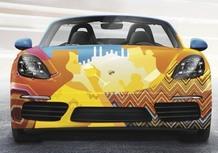 """Porsche, 718 Boxster coinvolge gli studenti della Naba nel suo """"Universe"""