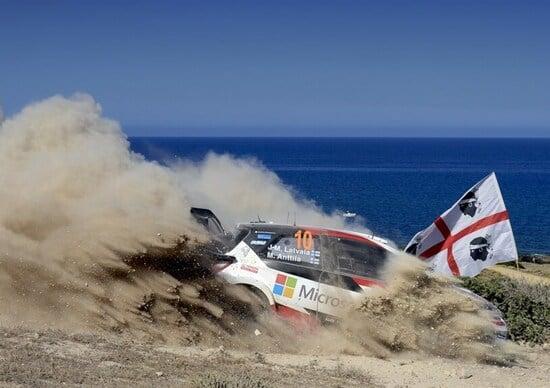 WRC17 Italia Sardegna. Super Highlights #3. Toyota Gazoo Racing
