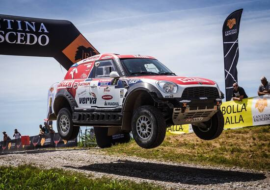 Cross-Country Rally 2017. A Przygonski (Mini All4) l'Italian Baja