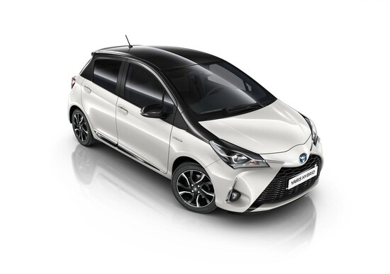 Toyota Yaris Trend White Edition, look total white