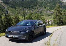 Con Tesla Model X da Lione a Torino. Missione compiuta!