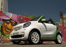 Smart fortwo cabrio electric drive, elettrica all'aperto