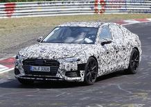Audi S6, la sedan cattiva in azione sul 'Ring