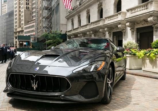 Maserati GranTurismo 2018. Il debutto? Si fa a Wall Street