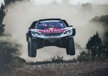 Dakar 2018: ecco la Peugeot 3008DKR Maxi [Video]