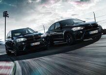 BMW X5 e X6 M Black Fire Edition, nero sportivo