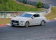 Mercedes CLS, test sul Ring per la prossima generazione