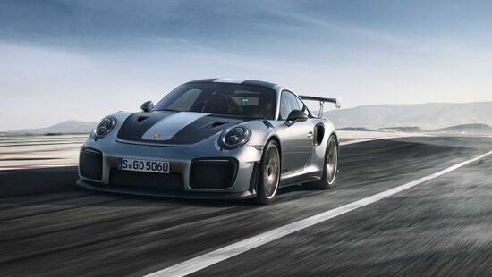 Porsche 911 GT2 RS: svelata a Goodwood