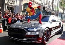 Audi A8 2018, al cinema con Spiderman