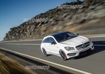 Mercedes-AMG CLA e GLA 45 AMG 2015: iniezione di potenza