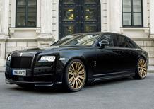 Spofec Black One: la Rolls-Royce Ghost più lussosa e potente
