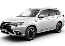 Mitsubishi Outlander PHEV: ecco il restyling della versione Plug In Hybrid