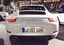 Porsche 911 restyling: le prime immagini definitive