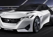 Peugeot Fractal concept: il Leone tornerà ad avere una coupé (o una cabrio)?