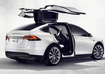 Tesla Model X, svelata la nuova crossover elettrica californiana