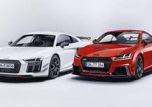 Audi Performance Parts: nuova aerodinamica per R8 e TT RS