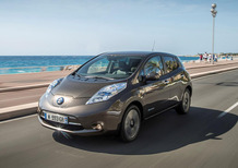 Nissan Leaf my 2016: aumentata l'autonomia