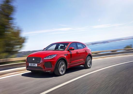 Jaguar E-Pace, SUV compatto e sportivo