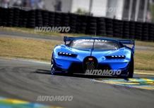Bugatti Vision Gran Turismo, sogno reale