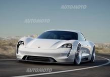 Porsche Mission E, il futuro è elettrico