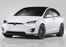Novitec debutta tra le vetture elettriche: componenti per la Tesla X