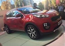 Kia Sportage: eccola al Salone di Francoforte 2015 [VIDEO]