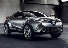 Toyota C-HR: la rivale di Nissan Juke si fa sempre più vicina