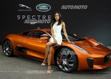 "James Bond ""Spectre"", ecco le Jaguar e Land Rover sul set"