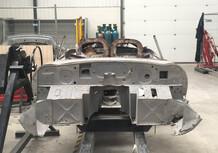 Jaguar, una 500 E-Type ritrovata a pezzi verrà restaurata