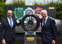 XII Conferenza Ambasciatori d'Italia: lo stile italiano su pneumatici Pirelli tricolori