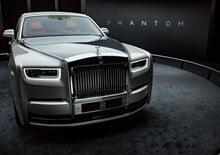 Rolls Royce Phantom, ecco l'ottava generazione