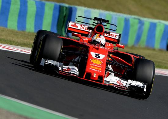 Ungheria, Ricciardo si ripete