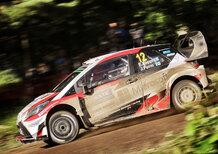 WRC17 Finlandia, Day 2: Latvala KO, Lappi (Toyota) in volo, podio arroventato!
