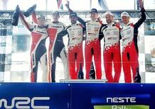 WRC17 Finlandia: Stellare, inedito exploit di Lappi (e di Toyota)!