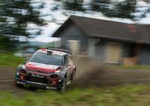 WRC 2017/Citroen. Finlandia: Craig Breen e Scott Martin, eccellente 5° posto assoluto con la C3 WRC+