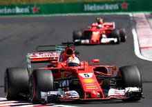 F1, GP Ungheria 2017: Ferrari, gioco di squadra perfetto