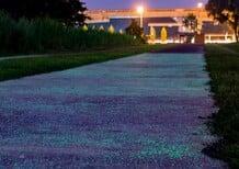 Singapore, arriva l'asfalto che brilla al buio