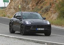 Porsche Macan restyling, le foto spia
