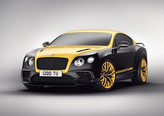Bentley Continental 24, ispirazione racing