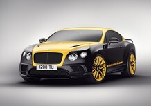 Bentley Continental 24, ispirazione racing